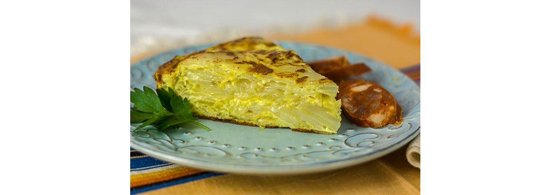 spansk tortilla opskrift